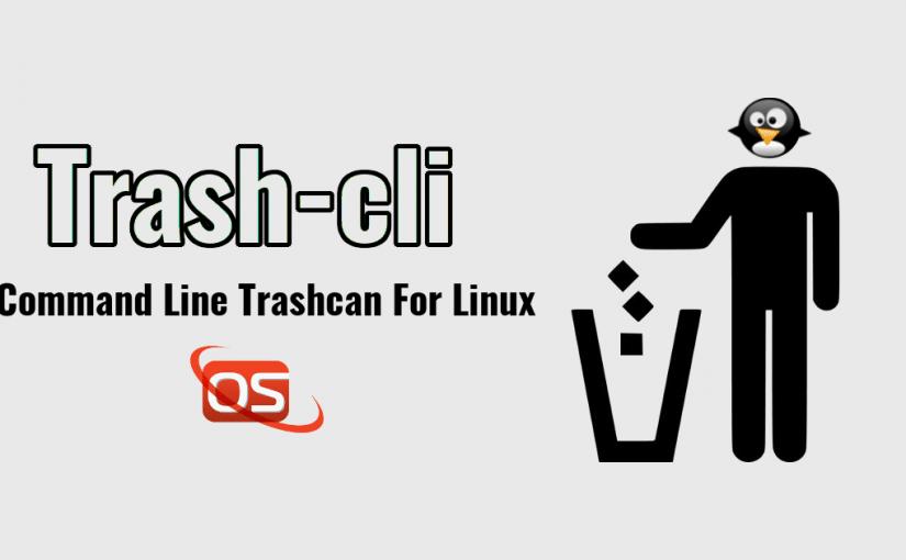 Trash-CLI